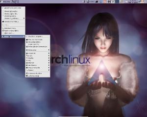 arch linux / taki troszkę świąteczny