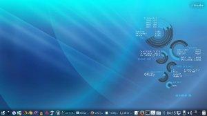 Debian_9 + KDE_5 Conky