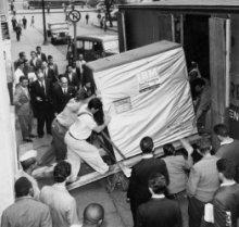 Transport 5MB dysku - 1956